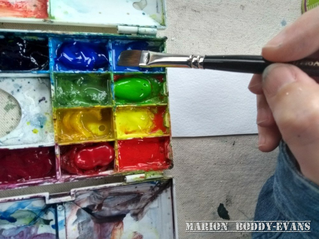 My Top Painting Tips: Brush Away From an Edge