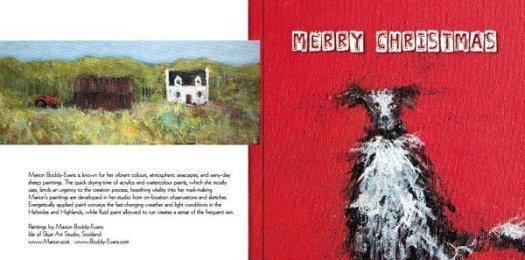 Merry Chrisrmas card Marion Boddy-Evans