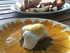 Eggs Benny for breakfast #homecooking