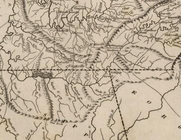 1816 M. Carey and B. Warner Map
