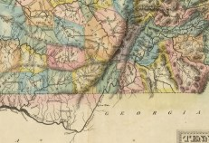 1822 Fielding Lucas Map