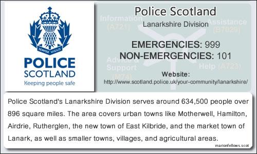 PoliceScotlandLanarkshire