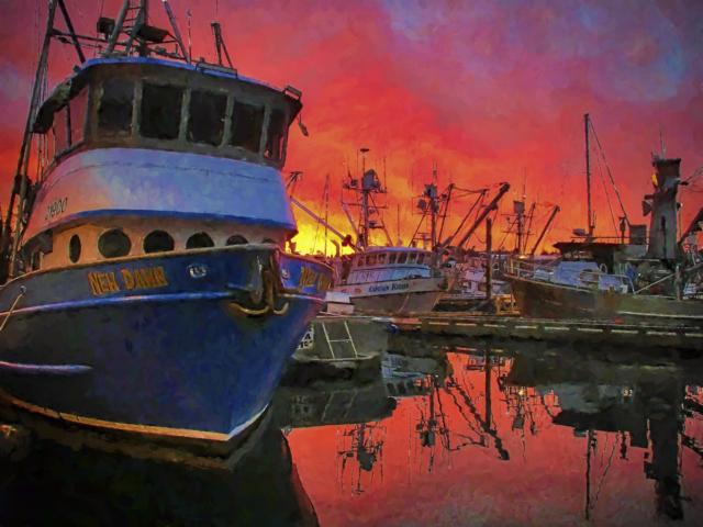Kodiak, Alaska, boat