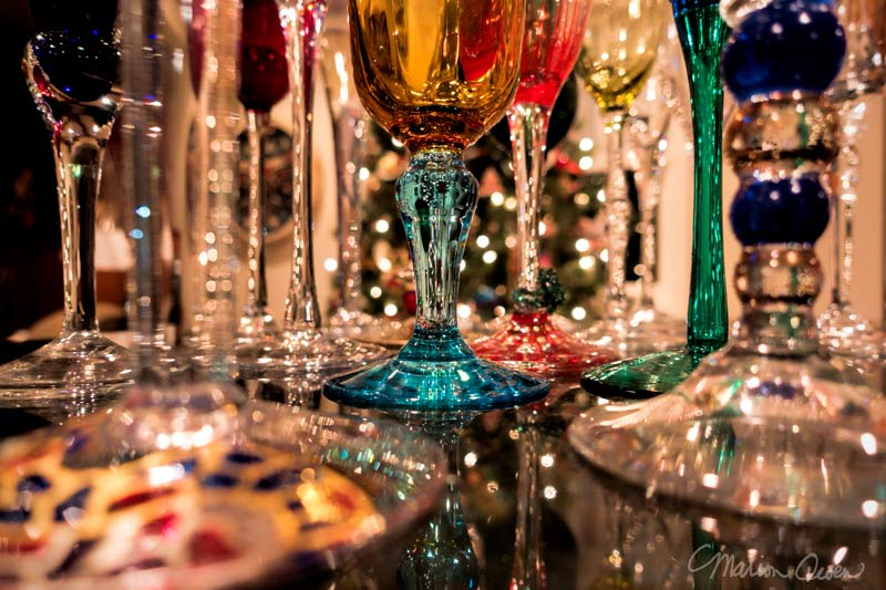 champagne, glasses, flutes, lights, reflections, glass