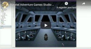 Tutorial vidéo pour créer un jeu avec Adventure Game Studio