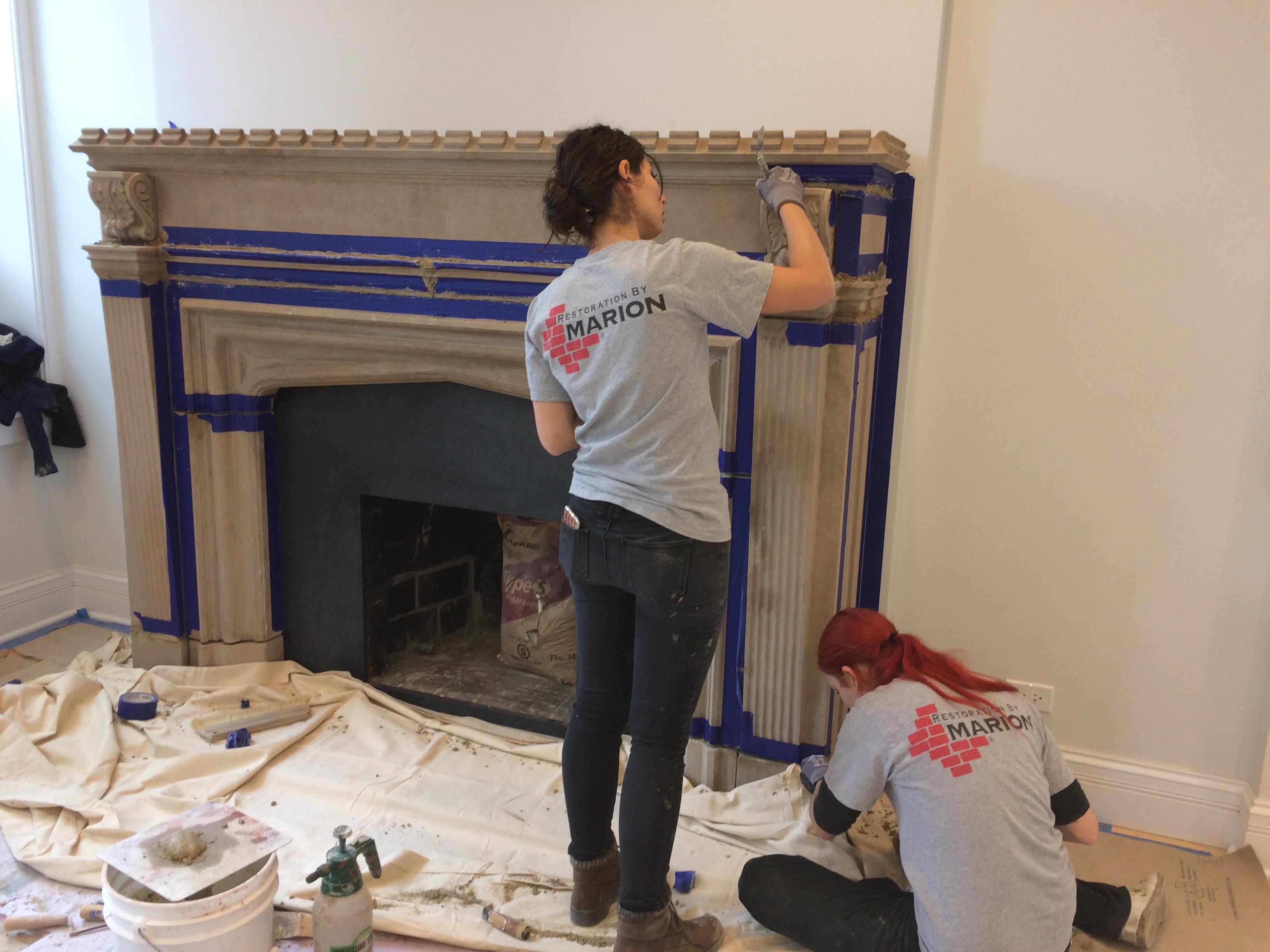 Image result for Fireplace restoration