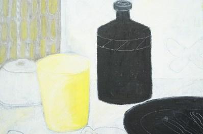 Still Life Black and Yellow