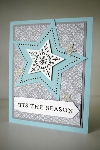 stampinup_many merry stars_weihnachtskarte