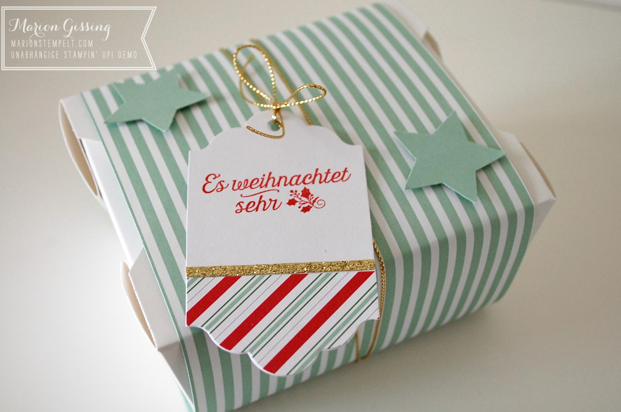 Klassische Weihnachtsgeschenke.Weihnachtsgeschenke Für Meine Kolleginnen Stampin Up In München