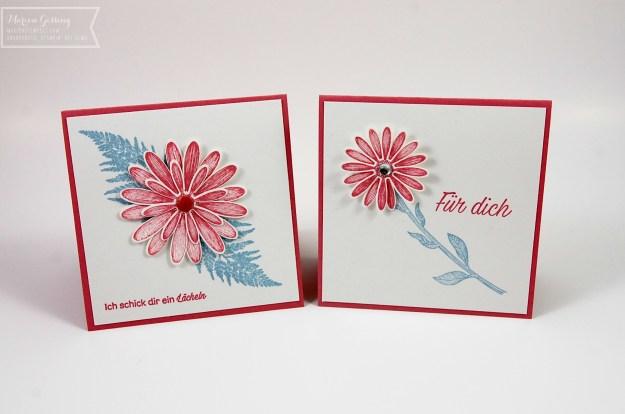 Gaensebluemchenglueck, Geburtstagskarte, Stampin' Up