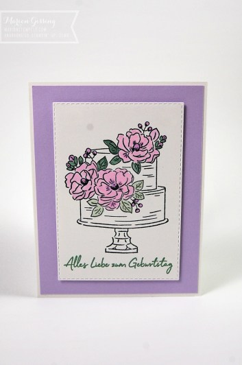Geburtstagskarte Stampin' Up