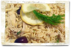 Orzo Chicken Olives
