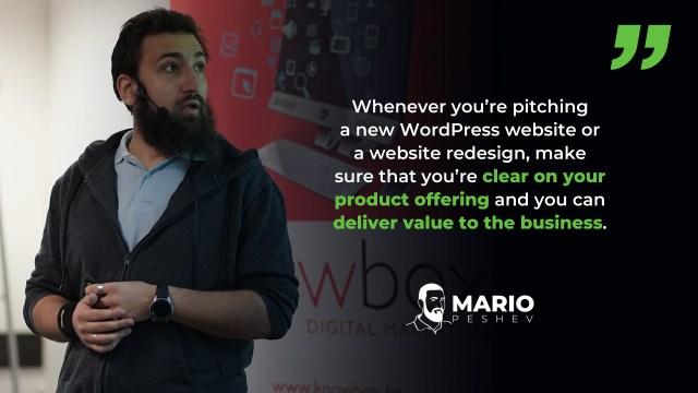 selling WordPress platform to SMBs