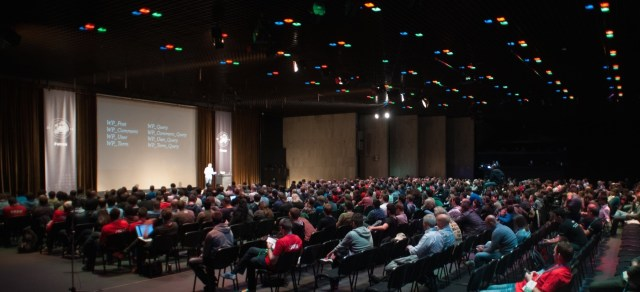 WordCamp Europe 2014 in Bulgaria with 900+ participants in 4 continents.