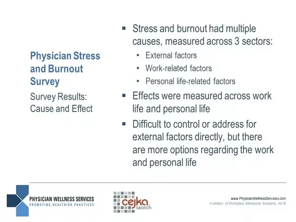 Physical Stress and Burnout Survey