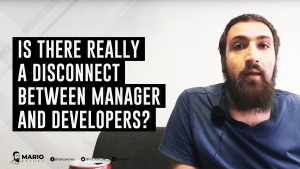 manager and developers