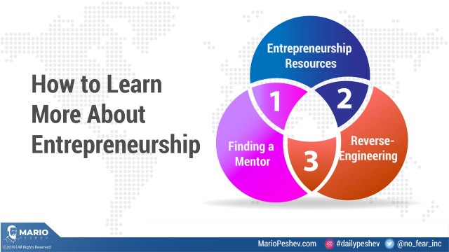 How to learn more about entrepreneurship