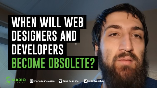 Will Web Developers Become Obsolete