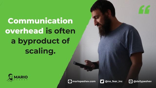 communication overhead