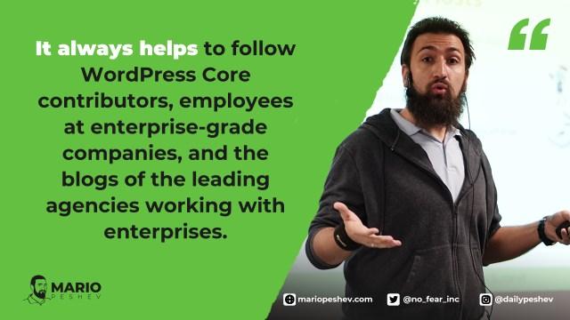 WordPress for enterprises