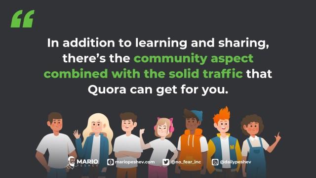 uses of Quora