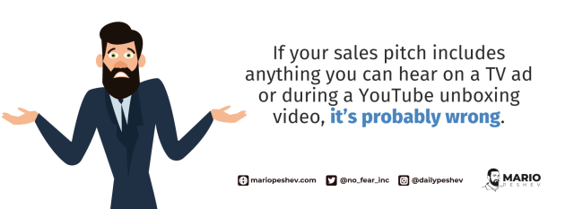 creating good sales pitches