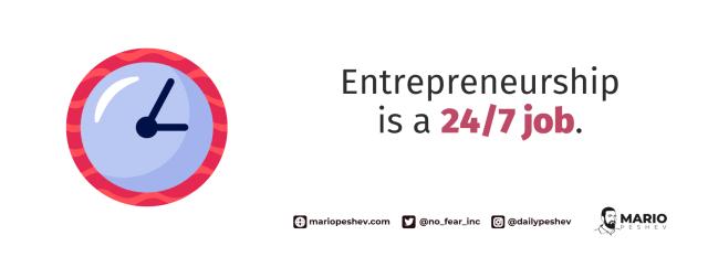 Entrepreneurial job