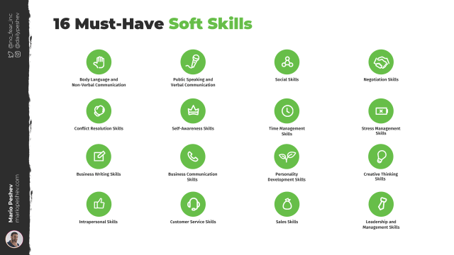 16 Must-Have Soft Skills