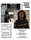 Mario Quinn-HipHop Instructor/ Choreographer