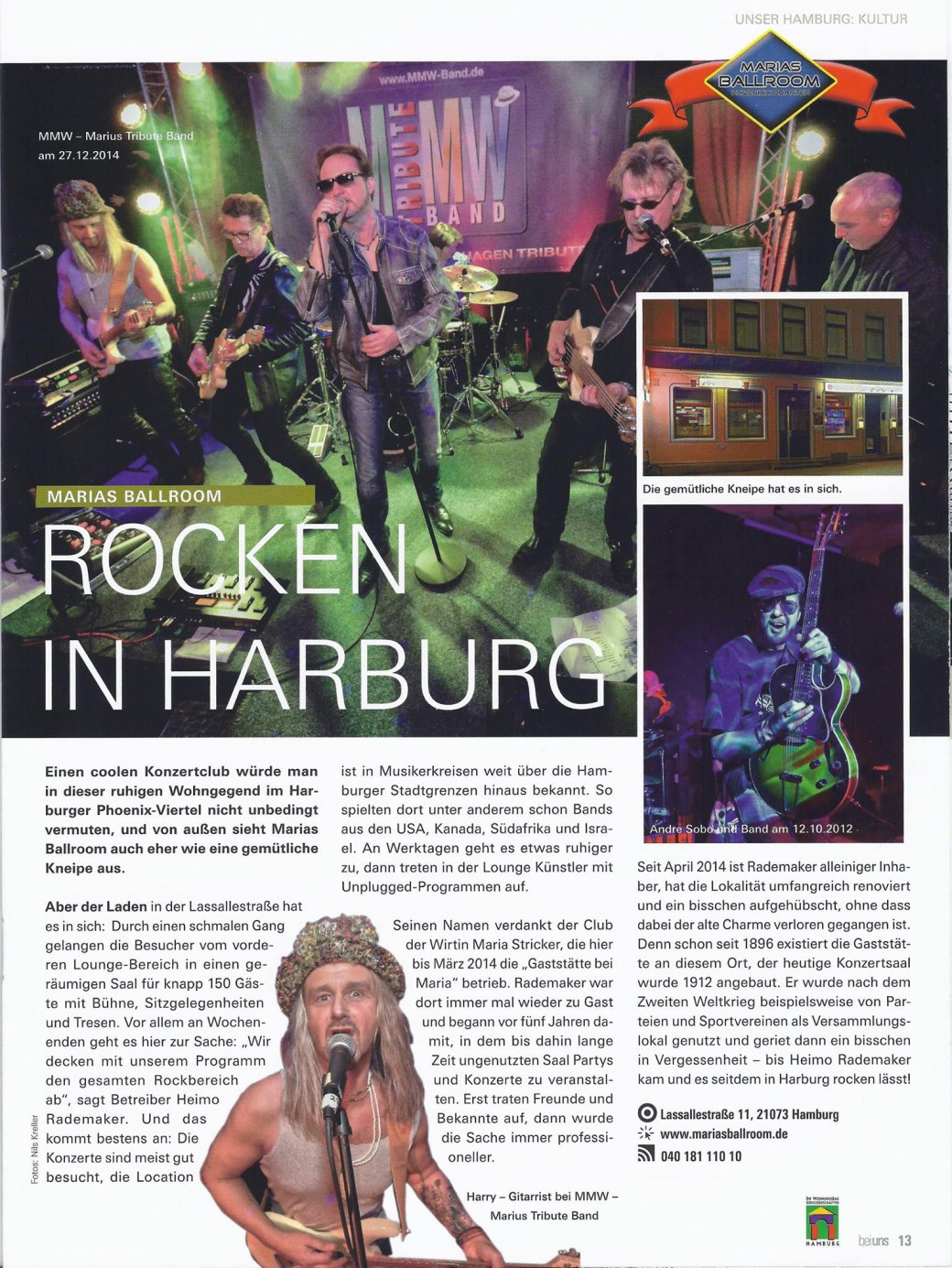 Rocken in Harburg