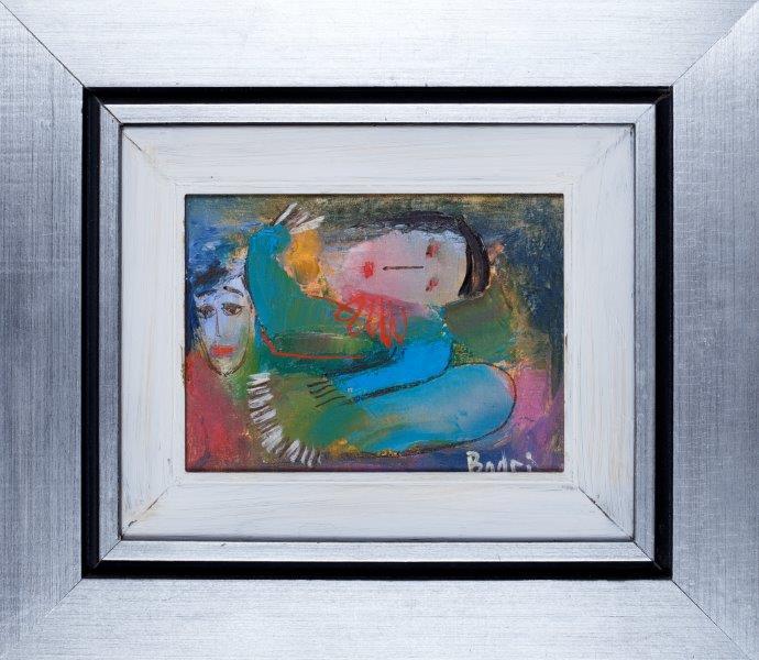 Badri sleeping woman painting