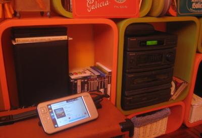Vagalume playing on my hi-fi system