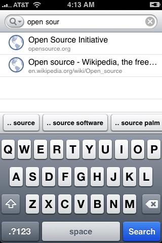 Google's Search App