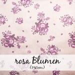 rosa Blumen (150 cm)
