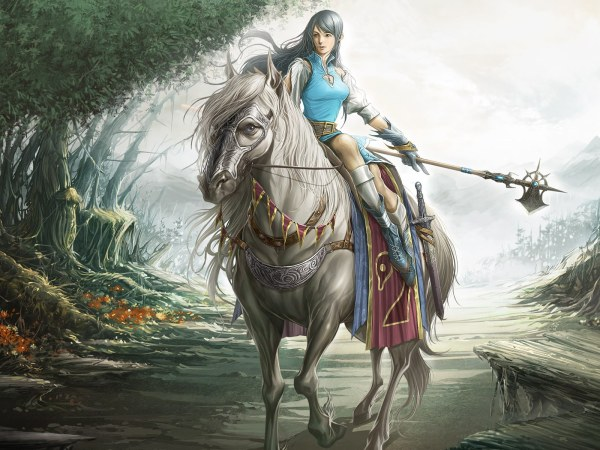 Masterpieces Of Fantasy Female Cg Characters - Personal