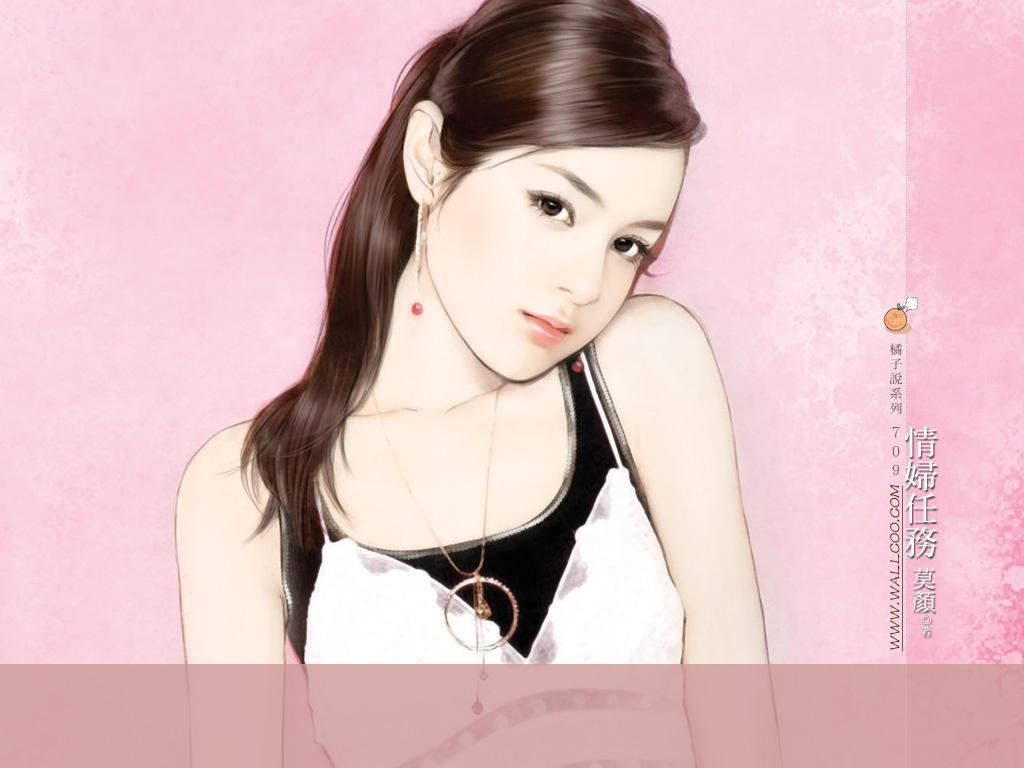 Sweet Chinese Girl Wallpaper Art Paintings Of Chinese Sweet Girls Personal Blog Of