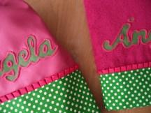 mochila y toalla personalizada
