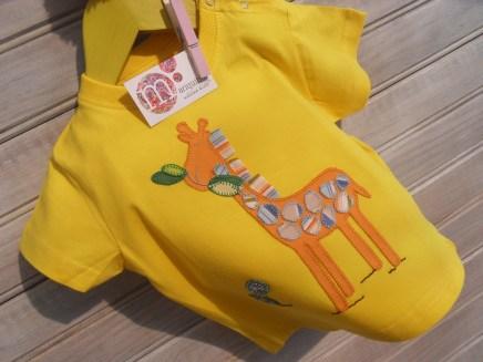 camiseta infantil personalizada