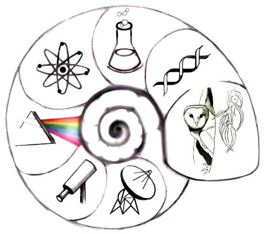 Real Scientists Logo by @diva_ex_machina