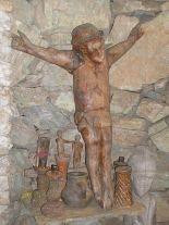 Cristo. Capilla del Páramo El Tisure