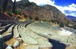 Anfiteatro de Delfos, Grecia, IV a. C.