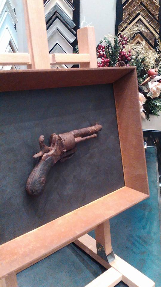 Arma de fuego muy antigua