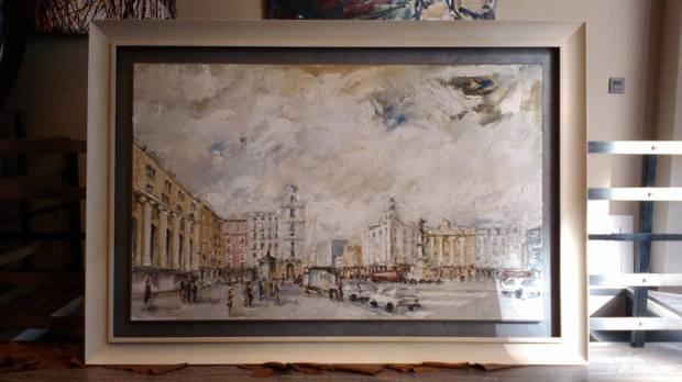 Piezas grandes: óleo enmarcado  #arte #Zaragoza #cuadros