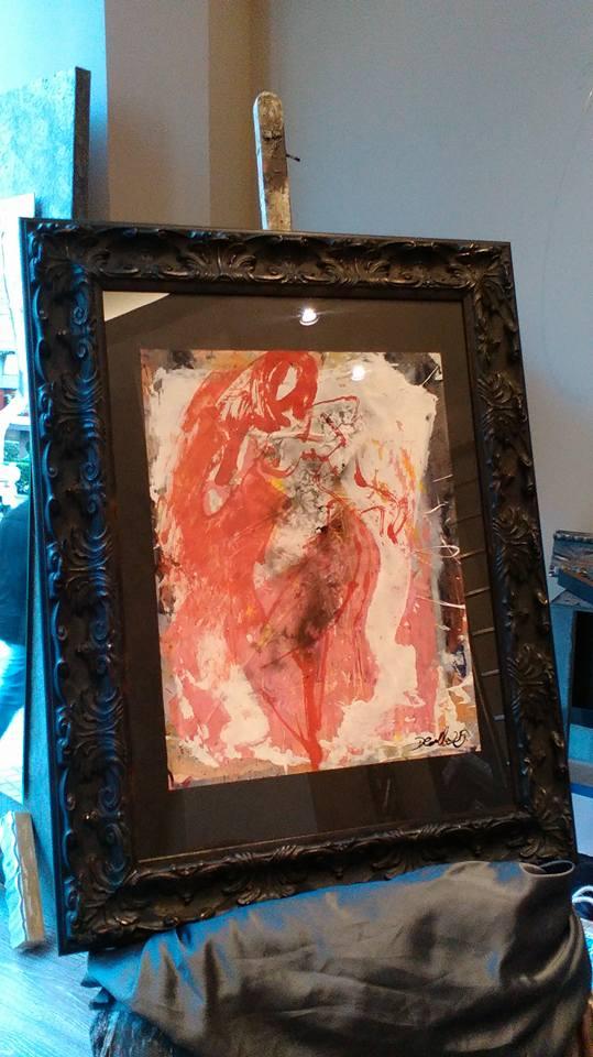 De Rojo, Femme Fatale: autor David Callau