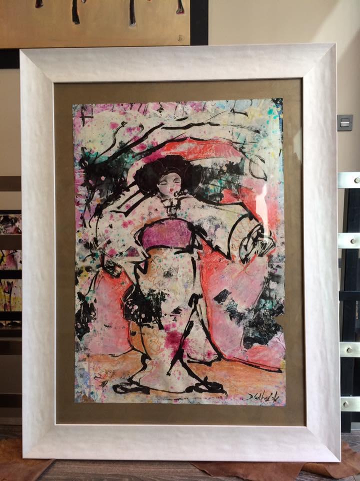 Amanecer Oriental. Autor David Callau Gené #arte #cuadros #enmarcaciones #Zaragoza #decoracion #MarisaCervantes #marcos