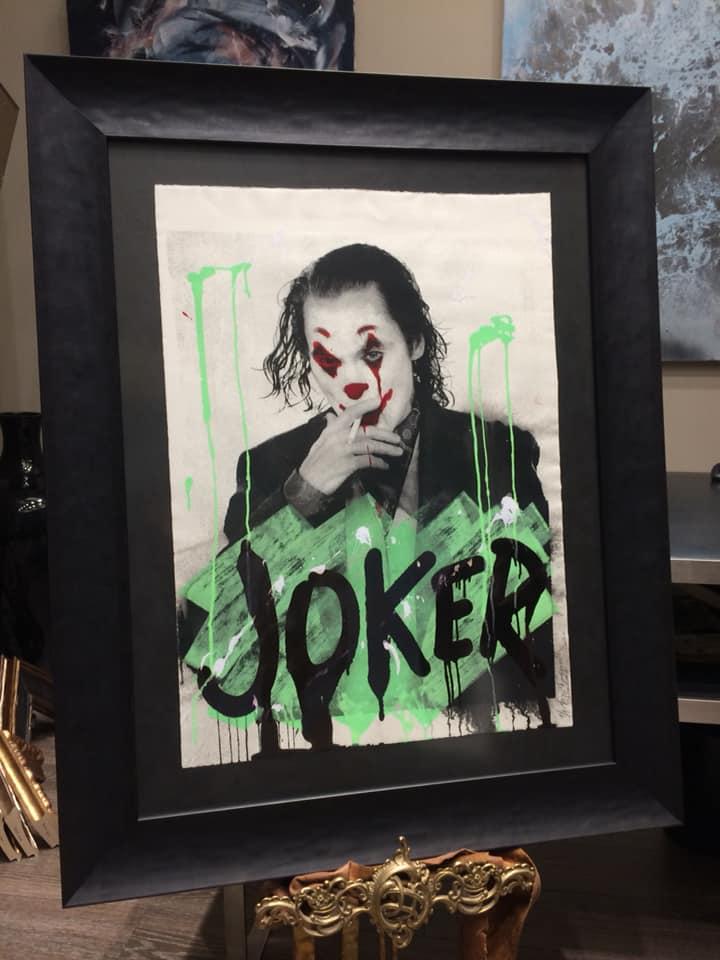 enmarcación joker