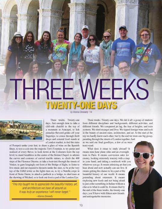 Alumni Magazine 2014-10