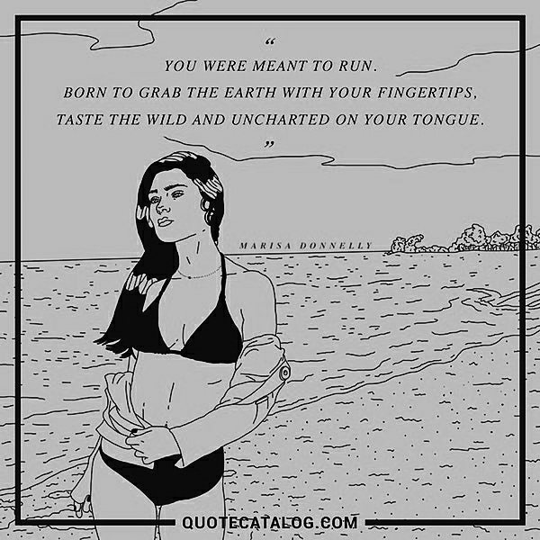 you were meant to run