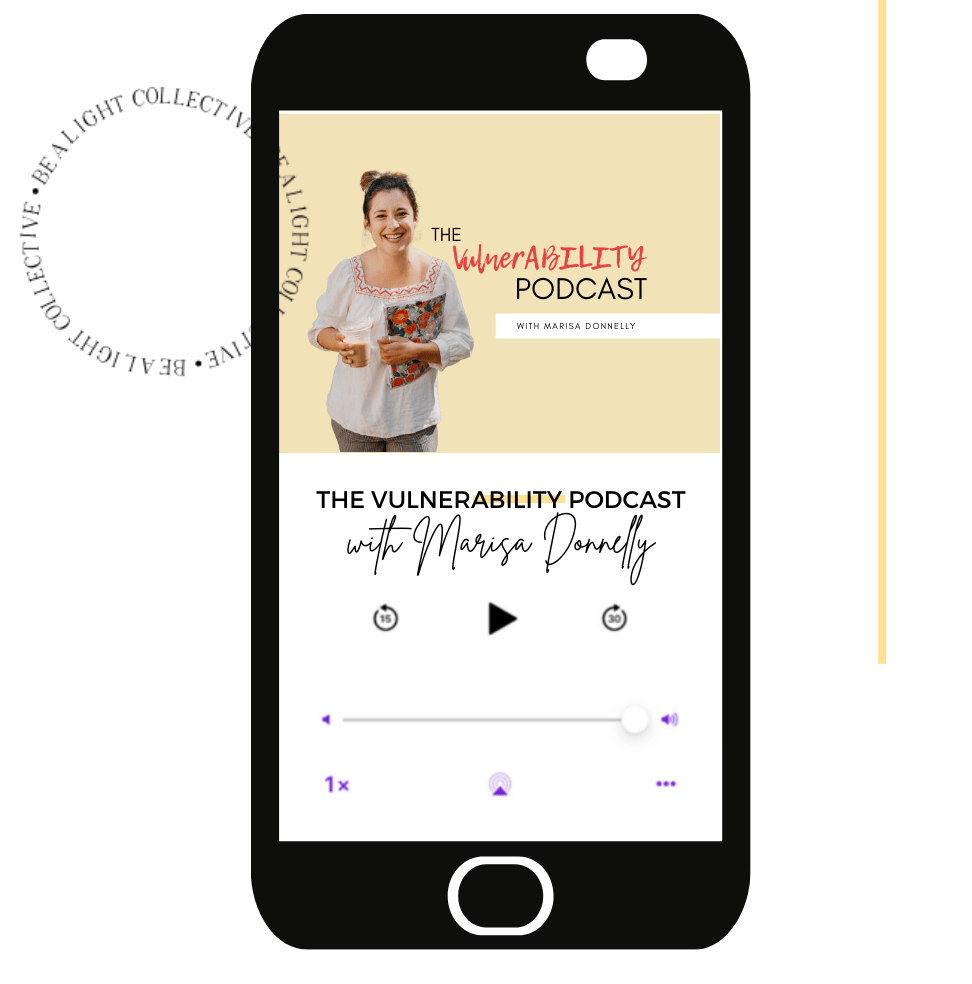 Connect to the VulnerABILITY Podcast by Marisa Donnelly