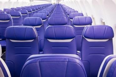 Southwest unveils 737-800 Heart interior